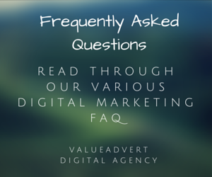 FAQ for Digital Agency